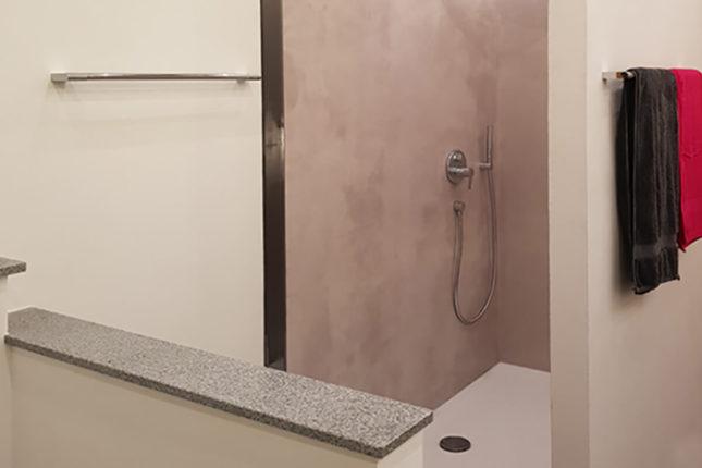 Fugenloses Bad - Dusche