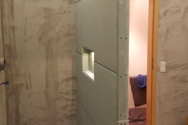 Fugenloses Bad - Duschnische